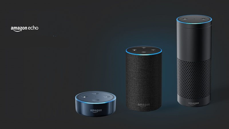 L'Amazon echo doté de l'assistant vocal - Alexa