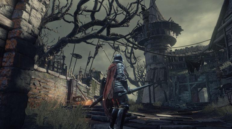 Le jeu dark souls 3