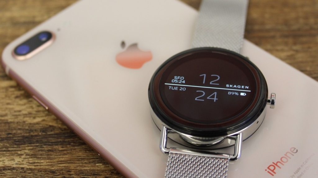 La compatibilité d'un Wear Smartwatch sur un iphone