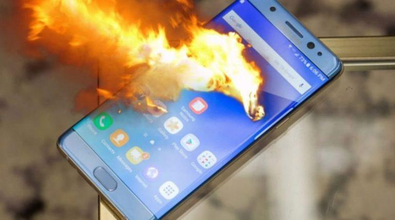 Smartphones qui explosent.