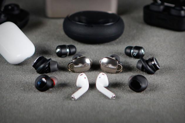 écouteurs sans fil.
